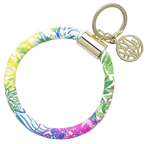 Amazon.com: Lilly Pulitzer - Llavero redondo, Multi color ...