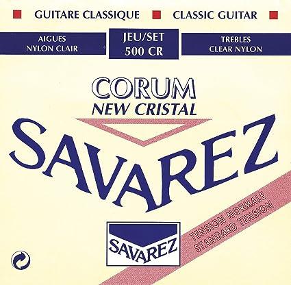 Savarez 500CR - Cuerdas para Guitarra Clásica, pack de 6: Amazon ...