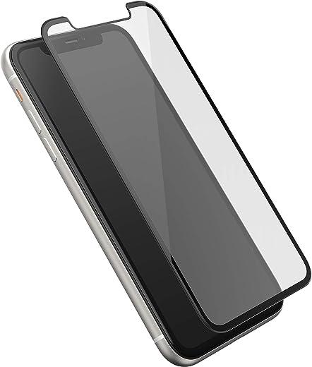 اوتربوكس لاصق حامي الشاشة لجوال ايفون XR ، شفاف
