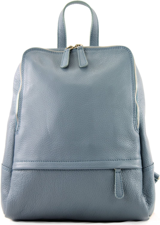 Ital Damenrucksack sac en cuir T138 modamoda de