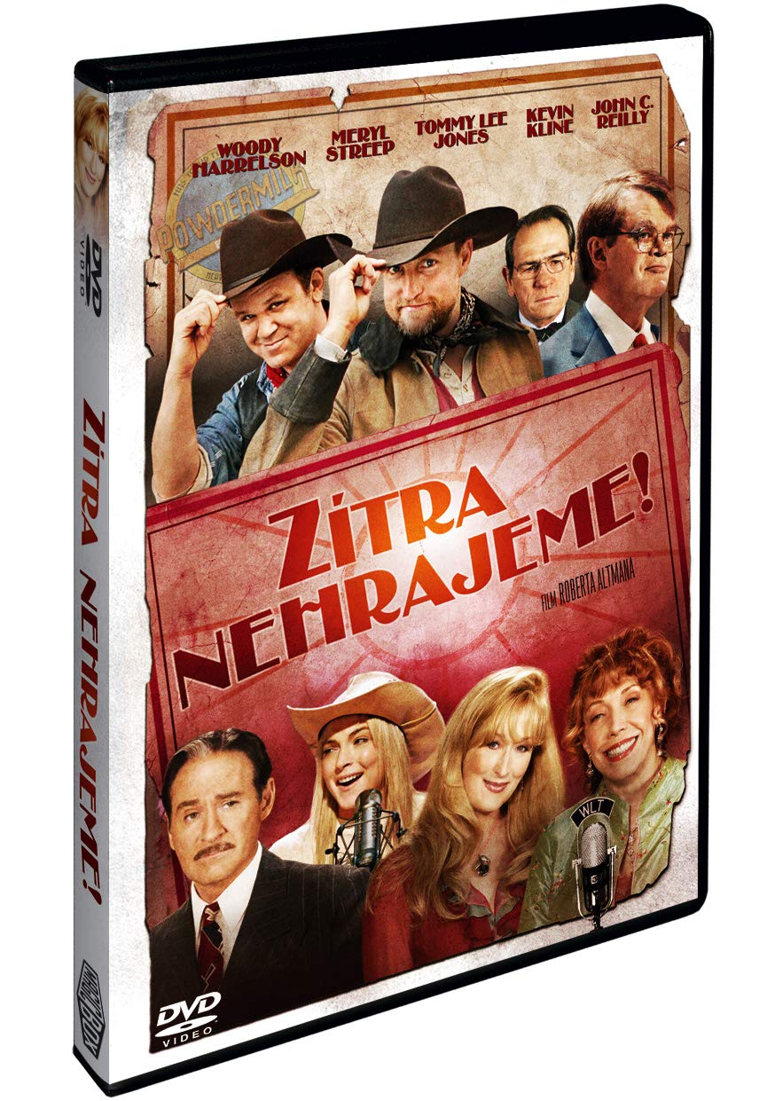 Zitra nehrajeme DVD / A Prairie Home Companion (czech version)