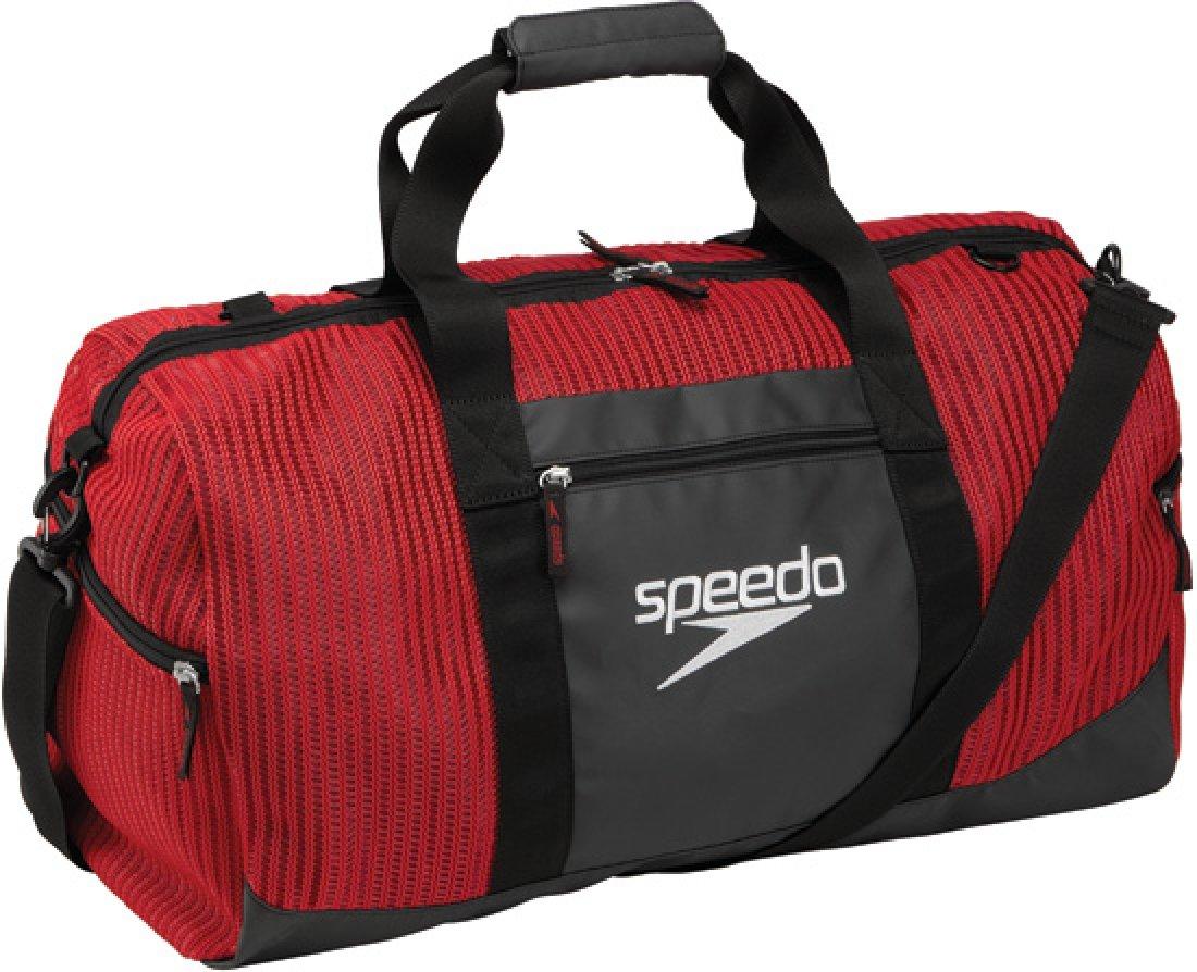Speedo ベンチレーター ダッフルバッグ B00EL3MSAM 40-Liter|ブラック ブラック 40Liter