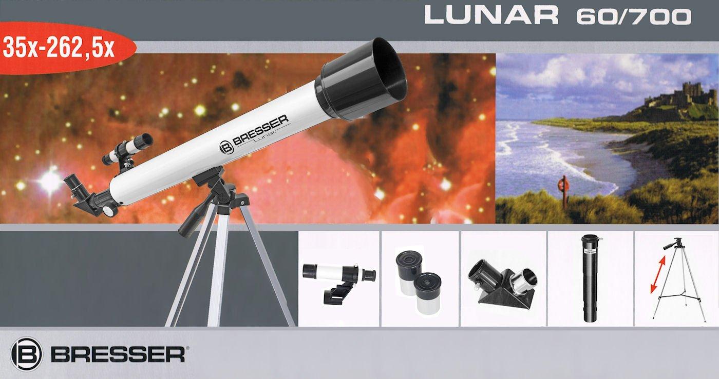 Tcm tchibo teleskop bresser lunar refraktor 60 700 az: amazon.de
