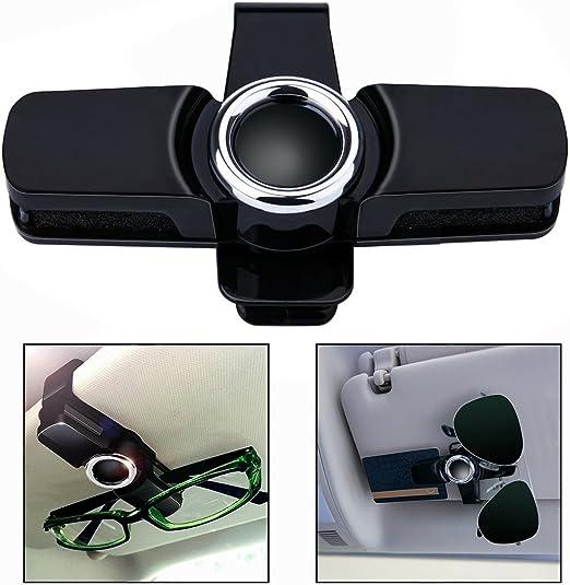 Ofkpo Universal Brillenhalter Für Auto Sonnenblende Brillen Halter