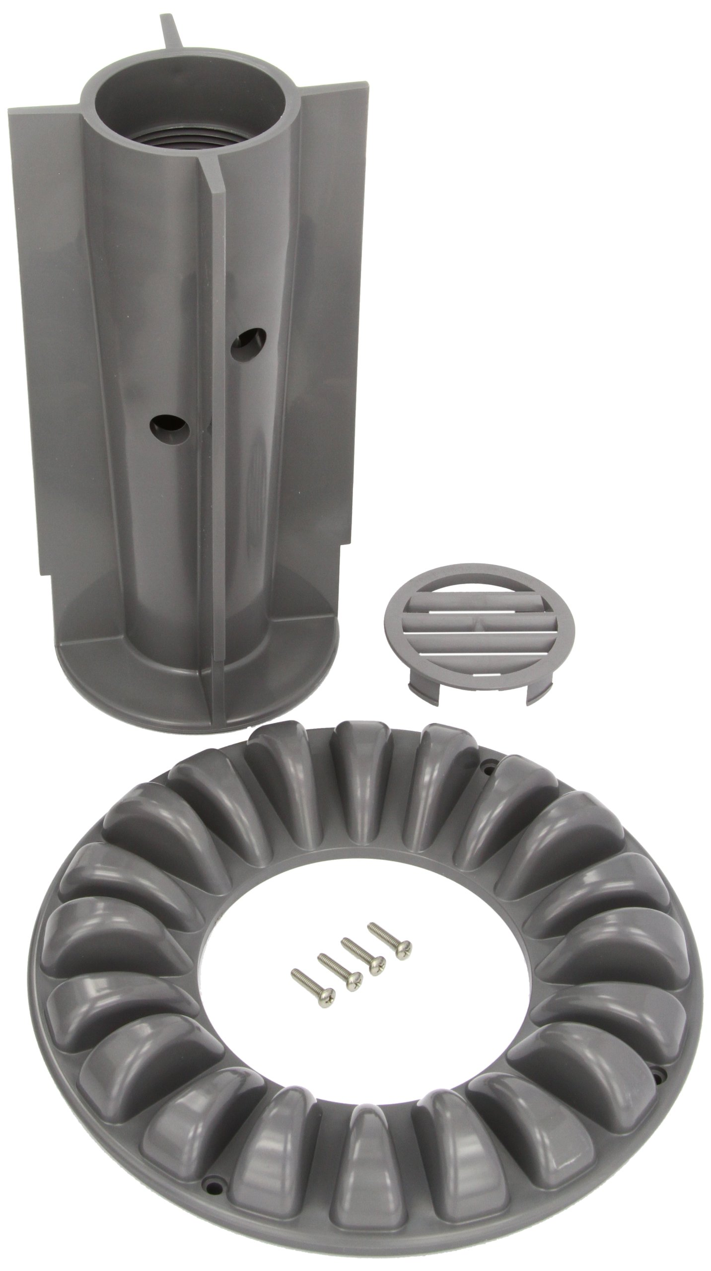 Zodiac 4-2-401 Light Gray Floor Canister Cover with Screws Replacement