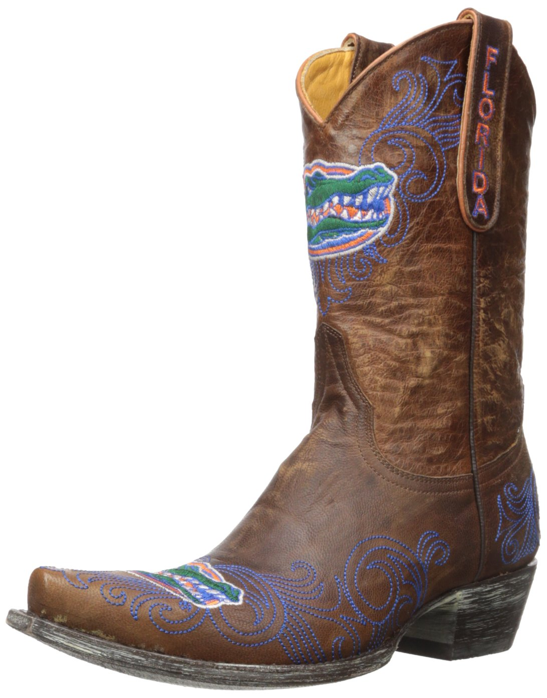 NCAA Florida Gators Women's 10-Inch Gameday Boots Brass