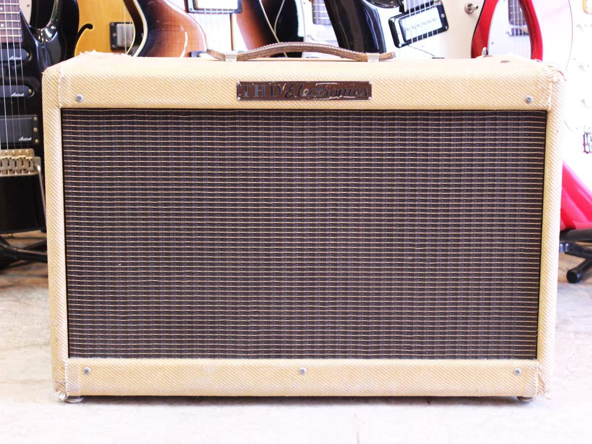 【中古】THD Electronics 2-10 Tweed 50W Bassmanタイプ   B07NYC1VDQ