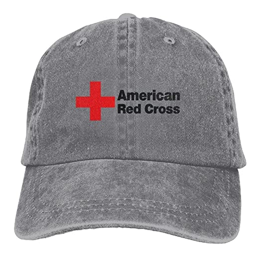 f7f932cb464 American Red Cross Trucker Hats Cool Hat at Amazon Men s Clothing store