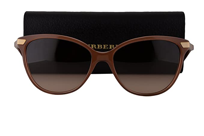 279a730ba4d Image Unavailable. Image not available for. Colour  Burberry BE4216  Sunglasses Brown ...