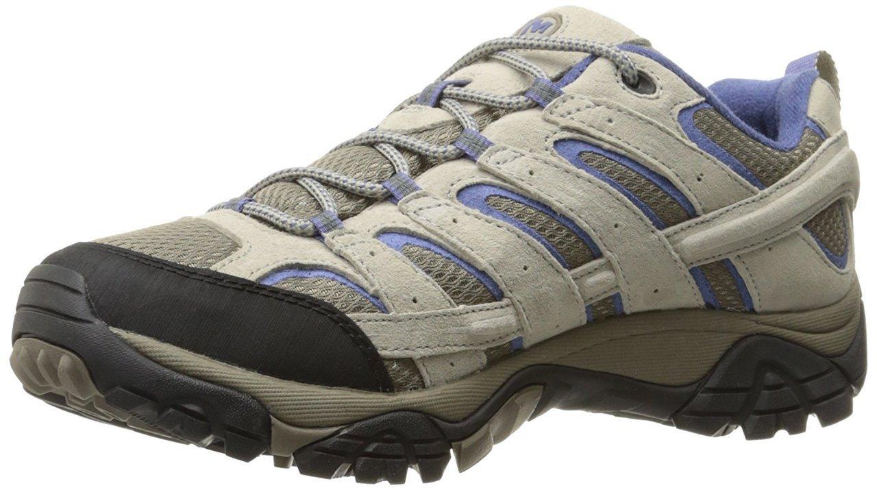 Merrell Women's Moab 2 Vent Hiking Shoe, Aluminum/Marlin, 9 M US