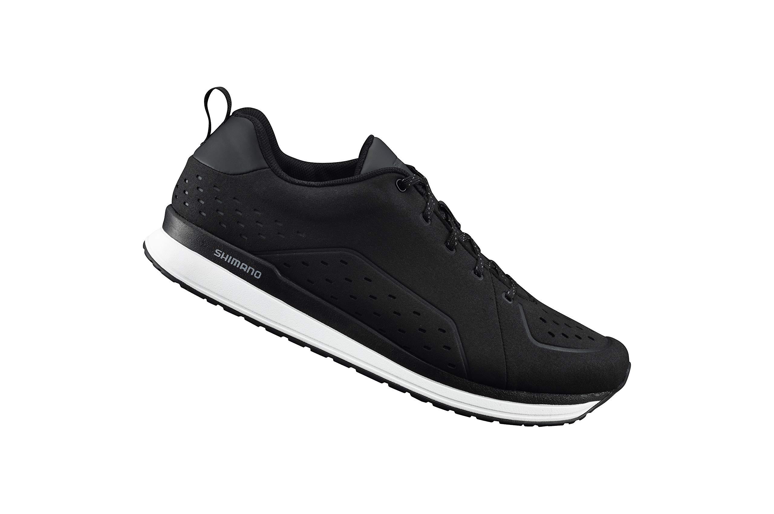 SHIMANO SH-CT5 Bicycle Shoes, Black, Size 38