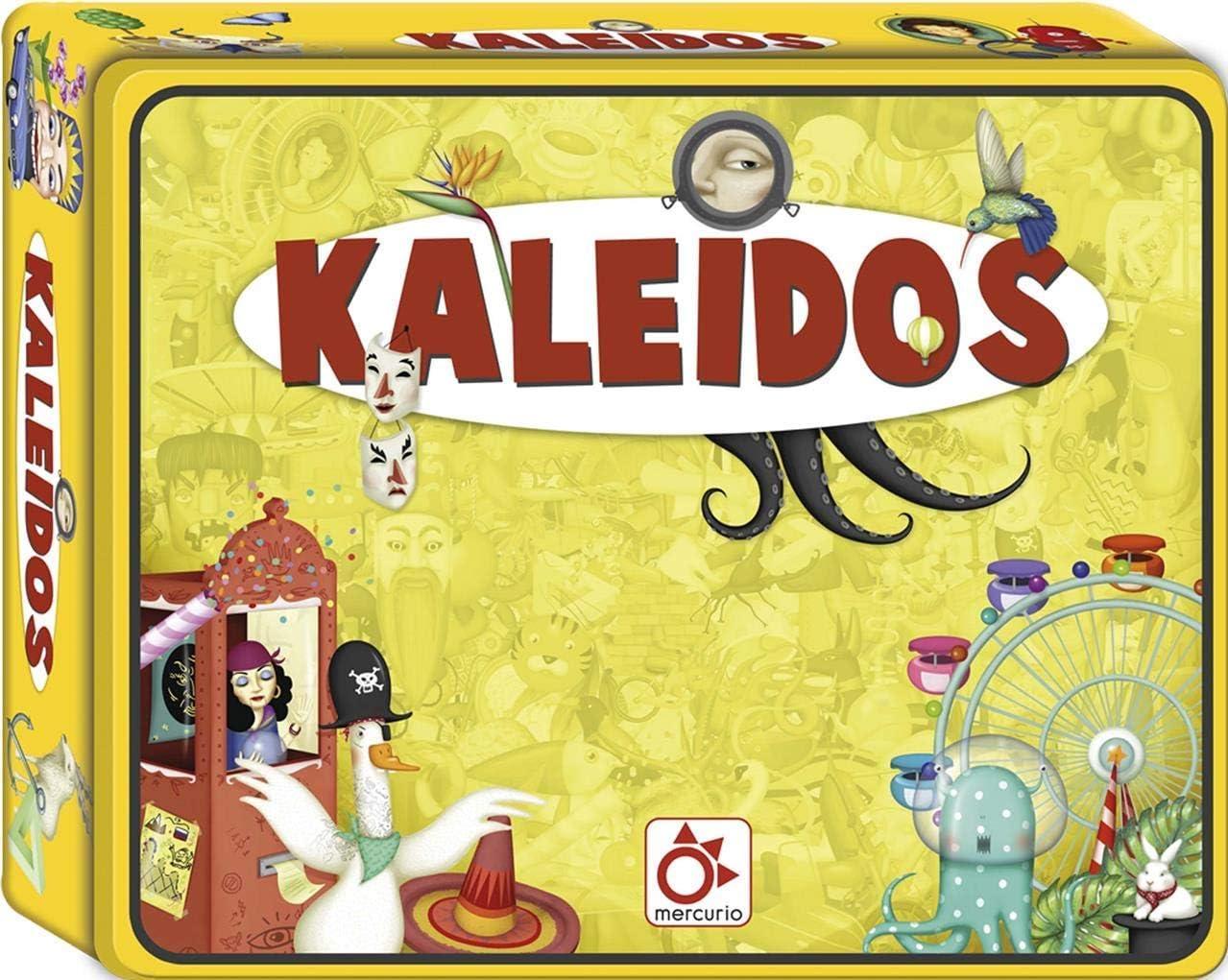 Mercurio- Juego KALEIDOS Encuentra Las Cosas Que EMPIEZEN por UNA Palabra, Multicolor (K0002): Amazon.es: Juguetes y juegos