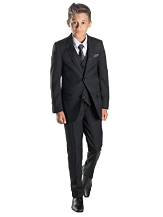 Paisley of London, Boys black suit, Boys page boy suits, Boys ...