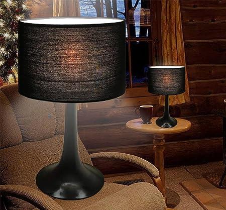 ZSJSM ZES-Moderna lámpara de Escritorio Minimalista LED cabecera ...