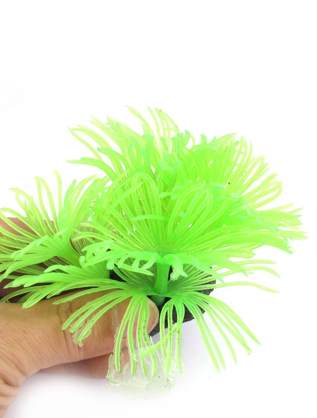 Amazon.com : eDealMax Forma acuario Artificial Flor de la Flor del ornamento Coral 7.5 pulgadas 2pcs : Pet Supplies