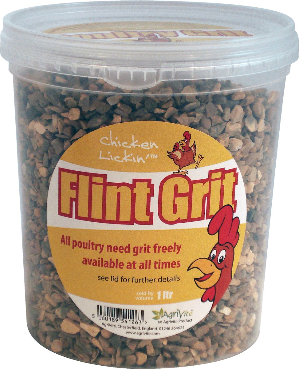 Agrivite Flintgrit Poultry Grit 1.5kg 1500g (Packaging May Vary) Tusk