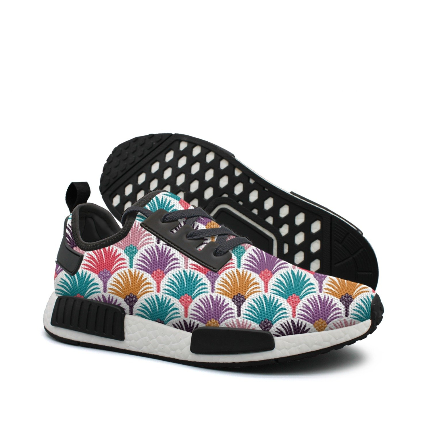 Women's colorful Camping Royal Palm Tree Hunting Casual Running shoes