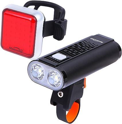 JCOOL Bike Rear Spot 15 Lumens Light with Red LED
