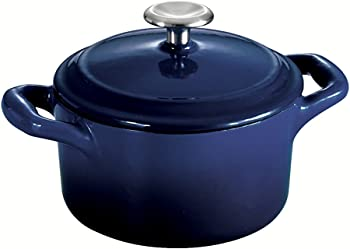 Tramontina Gourmet Enameled Cast Iron Round Covered Small Cocotte