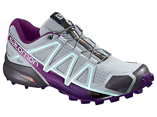 Chaussures Salomon Speedcross 4 GTX Femme Gris Violet Noir