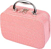 bjduck99 Beauty Makeup Cosmetics Zipper Organizer Box Travel Toiletry Case Storage Bag