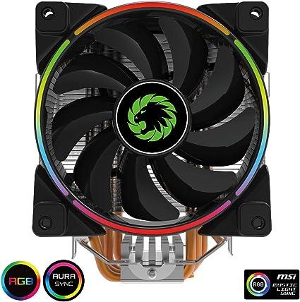 Gamemax Gamma 500 Argb CPU Cooler, Argb Leds, 5 Heatpipes, 1 x 120 ...
