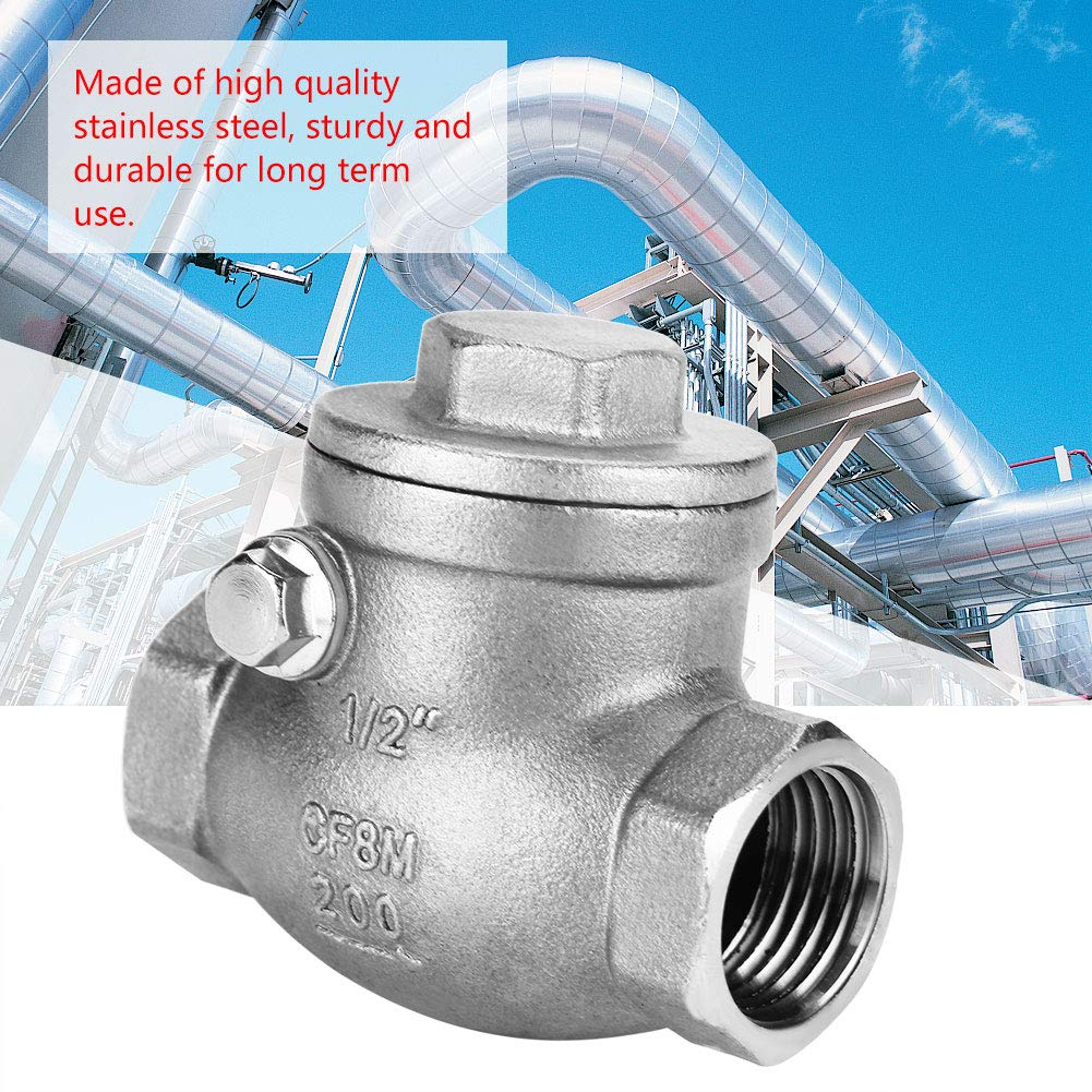 Stainless Steel Wire 1 Way Swing Buckle Check Valve DN15