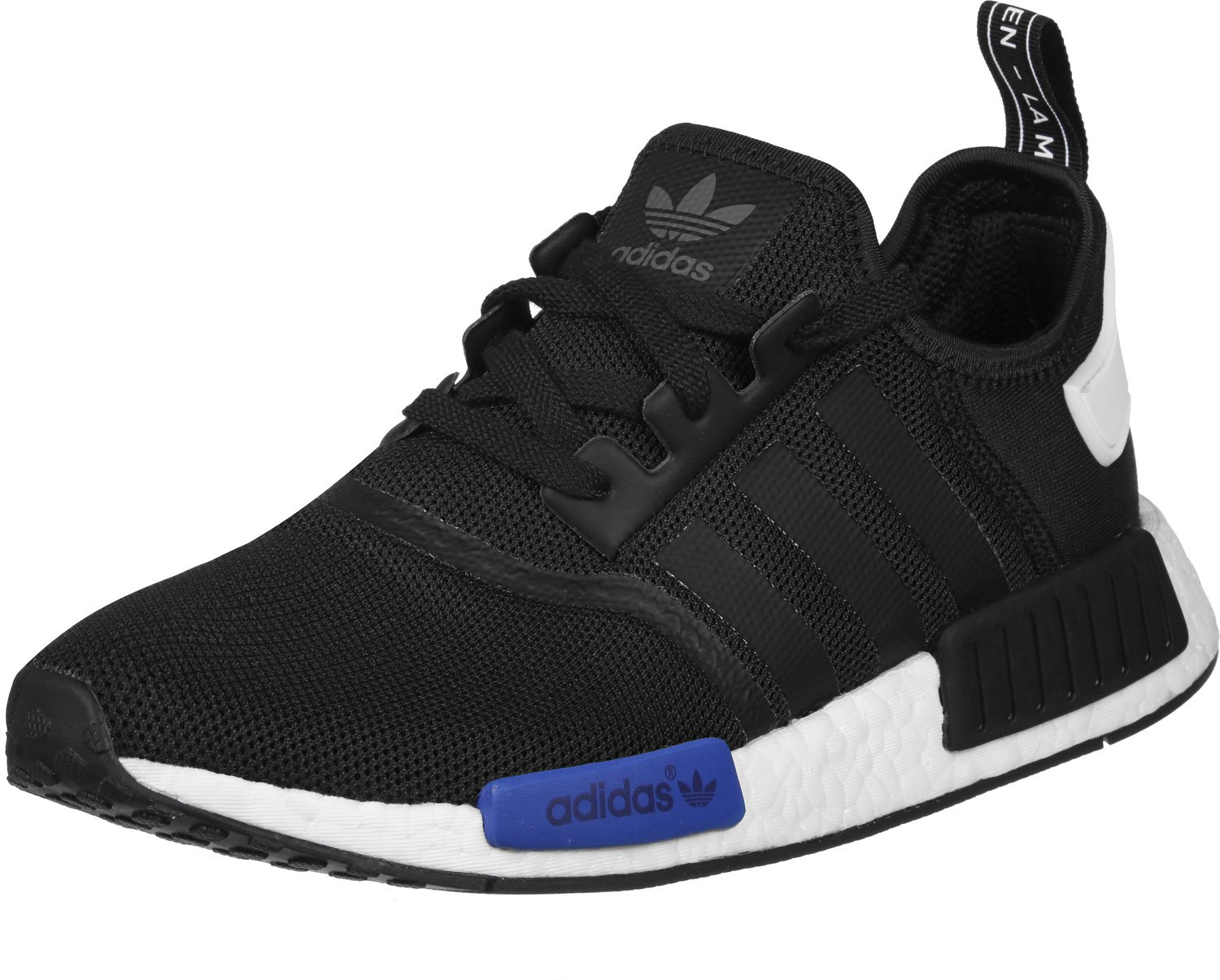 adidas Originals NMD_R1 Womens Running Trainers Sneakers B01CUPGYS4 11 D(M) US|Black, Blue, White