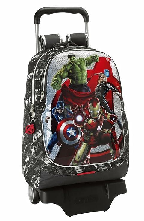Avengers - Mochila Grande con Ruedas, 32 x 44 x 16 cm (SAFTA 611527313): Amazon.es: Equipaje