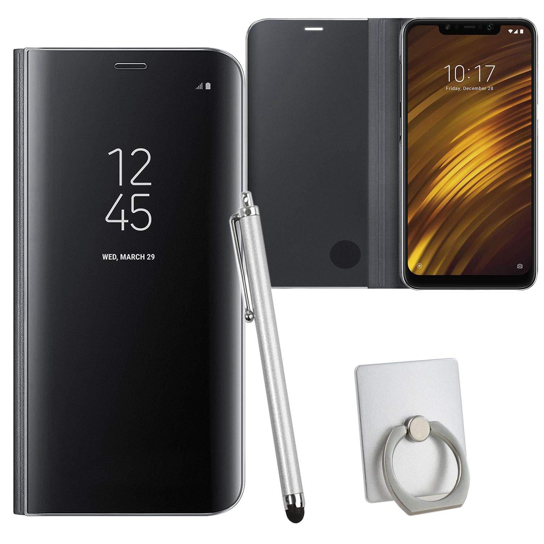 Guran® Mirror Efecto Espejo Funda para Xiaomi Pocophone F1 Clear ...