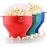 Zulay Kitchen Microwave Popcorn Popper Collapsible, BPA Free Silicone Popcorn Popper Microwave Collapsible Bowl, Quick…