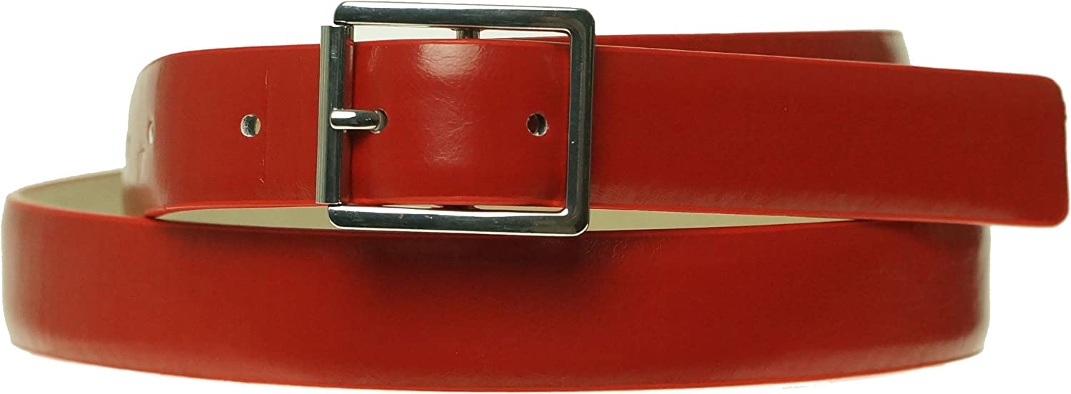 Style /& Co Womens Centerbar Belt Red Small