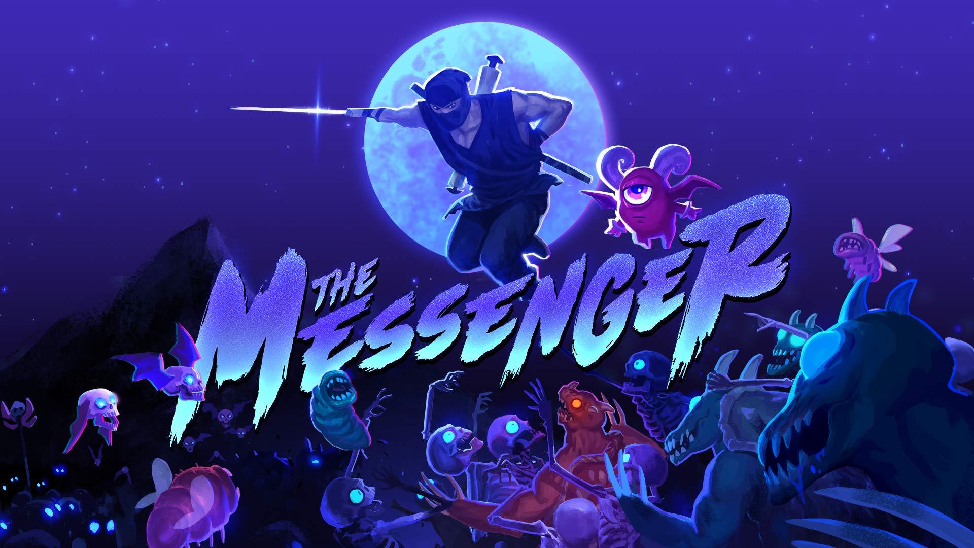 Amazon.com: The Messenger - Nintendo Switch [Digital Code ...