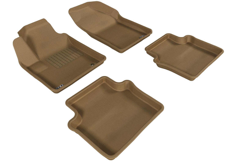 Kagu Rubber Gray 3D MAXpider Complete Set Custom Fit All-Weather Floor Mat for Select Chrysler Sebring Models