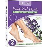 Foot Peel Mask,Lavender Foot Mask,Foot Peel Exfoliator, Feet Peeling Socks, Cracked Heel Repair,Callus,Dry&Dead,Hard Skin Rem