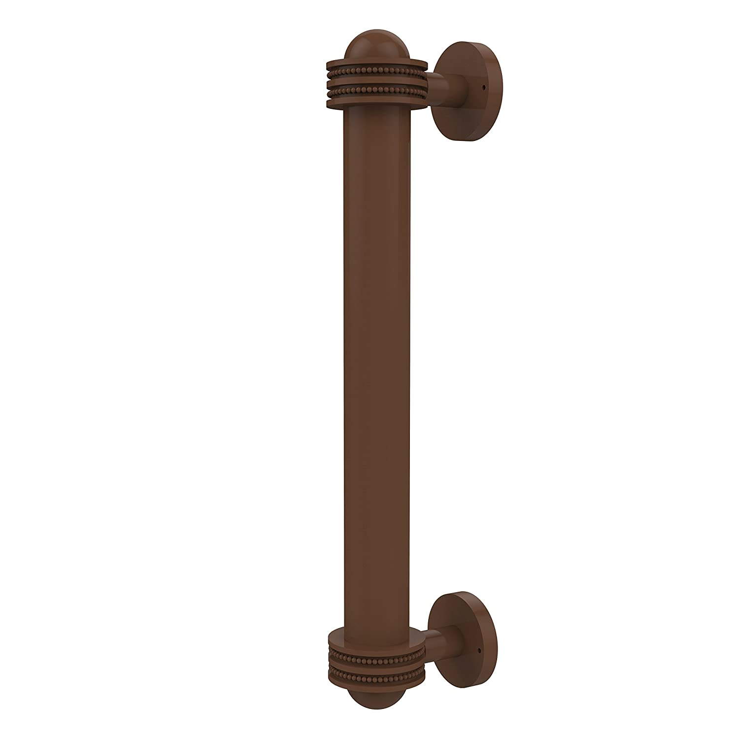Allied Brass 402AD-ABZ 8 Inch Door Pull with Dotted Accents Antique Bronze