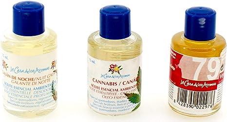 Pack 21 Botes Aceites Esenciales Aromaterapia Especial Quemador ...