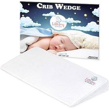 Amazon.com: LilliJoy - Almohada universal de cuña para bebé ...
