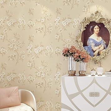 HXY 3D Non Woven Moderne Grüne Tapete American Retro Pastoralen Blumen  Hauswand Hintergrundbild Kaufen