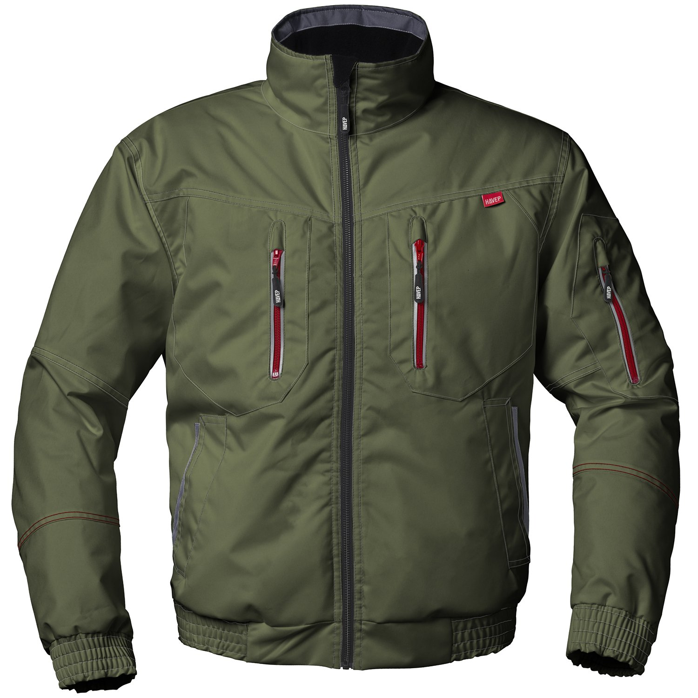 Forestry Green//Charcoal Grey Havep 50186.N9EYJ---M M 50186.N9EYJ-M JacketAttitude50186 Size Green//Grey