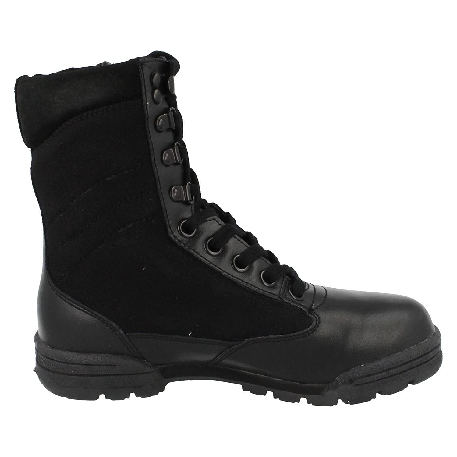 Mens Truka Leather And Nylon Lace Up Combat Boot - Combat RG-1080:  Amazon.co.uk: Shoes & Bags