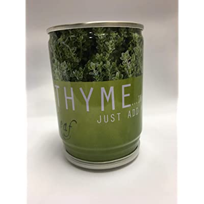 Leaf Gifts Grow Your Own Herbs - Thyme - Herbs in a Tin: Home & Kitchen
