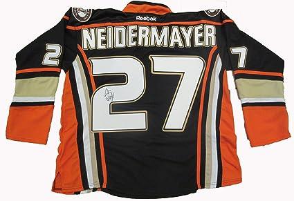 new arrivals 2d276 c977a Scott Niedermayer Autographed Anaheim Ducks Jersey W/PROOF ...