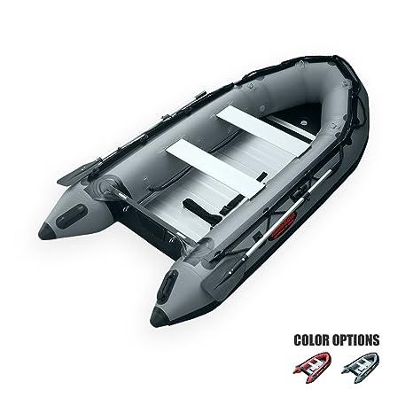 Seamax Ocean320 Heavy Duty 10 5 Feet Inflatable Boat With Rigid Aluminum Floor And V Shape Soft Bottom