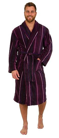 67ff4fd874c Robe de Chambre en Polaire Doux - Homme  Amazon.fr  Vêtements et accessoires