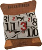 Ruler Ribbon by Tim Holtz Idea-ology, 1 yard per pack, 5/8 Inches, Cloth, Multicolored, TH92830