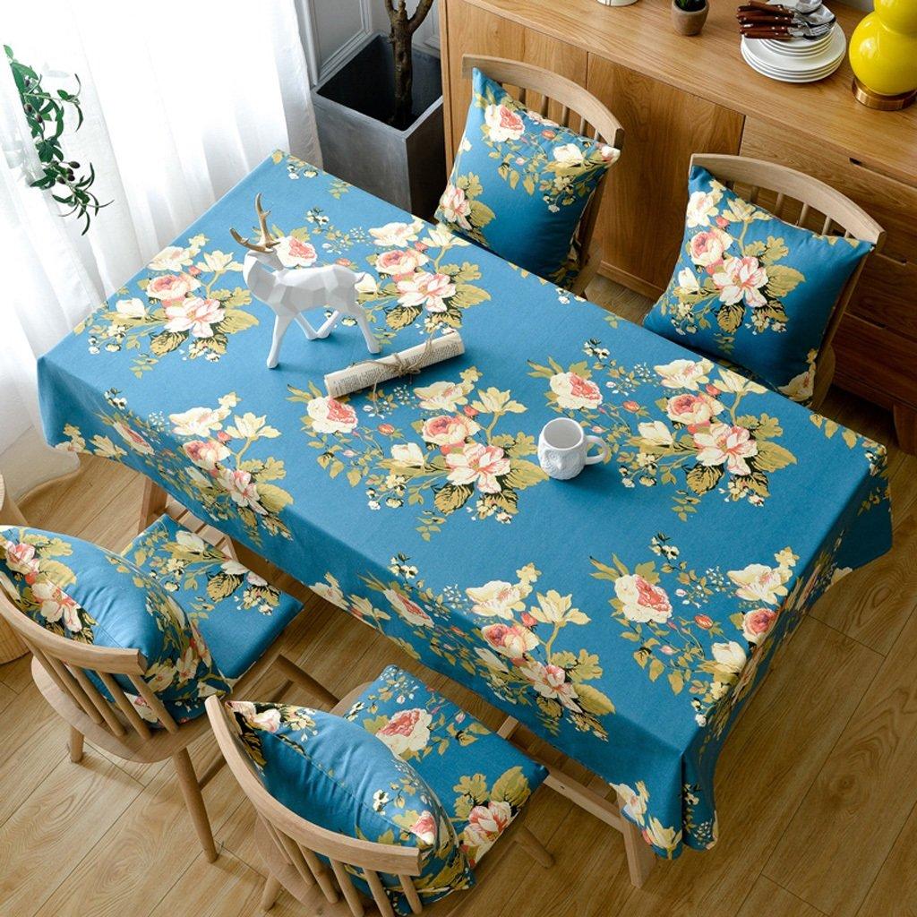 LINGZHIGAN Tischdecke Baumwolle Hanf Stoff Kunst Einfache rechteckige Teetabelle Hochzeit Restaurant Party Tisch (Dieses Produkt verkauft nur Tischtücher) ( größe   110110cm ) B075YFLFSK TischdeckenZuverlässiger Ruf | Bestellung willkommen