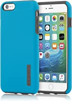iPhone 6S Plus Case, Incipio DualPro Case [Shock Absorbing] Cover fits both Apple iPhone 6 Plus, iPhone 6S Plus - Cyan / Gray