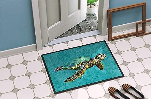 Caroline s Treasures 8659JMAT Turtle Indoor or Outdoor Mat 24×36 Doormat, 24H X 36W, Multicolor