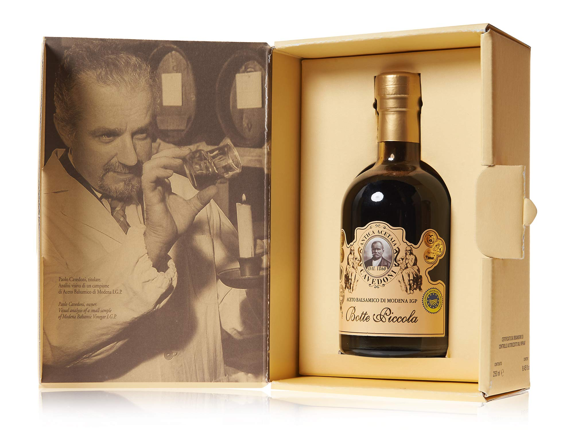 Botte Piccola Balsamic Vinegar IGP, 250ml Bottle by Cavedoni